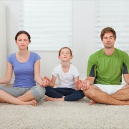 Meditating as a family